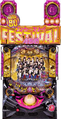 ぱちんこAKB48 ワン・ツー・スリー!! フェスティバル 筐体画像画像